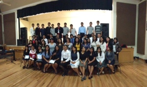 Escalera Scholarship Students thank the many who have contributed to their education.